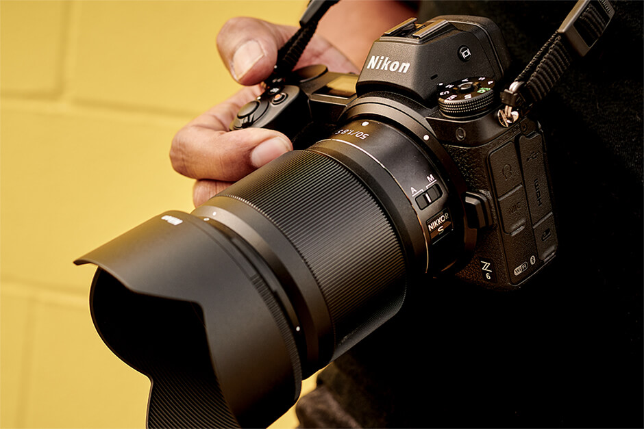 A photo of the Nikon Z 6.