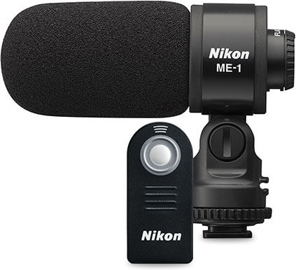 Product photo of a Nikon Microphone and Wireless Remote