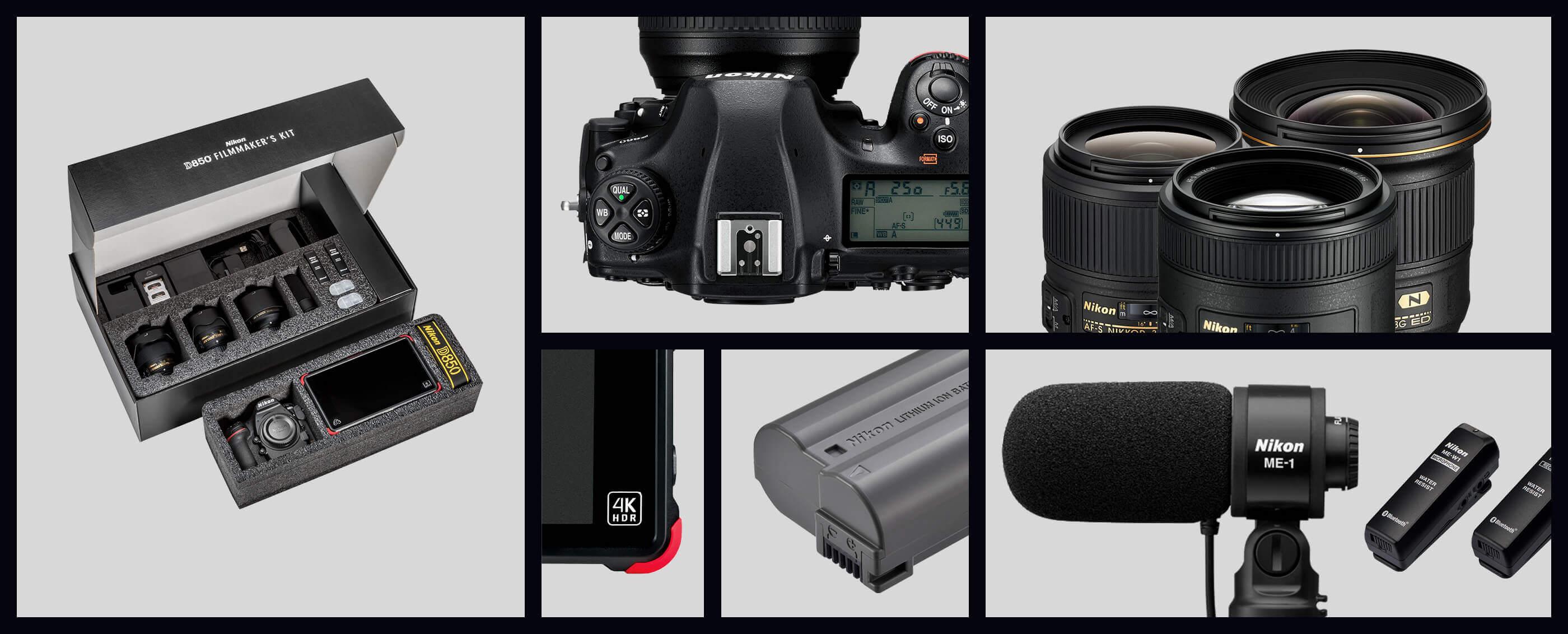 Nikon D850 DSLR Filmmaker's Kit