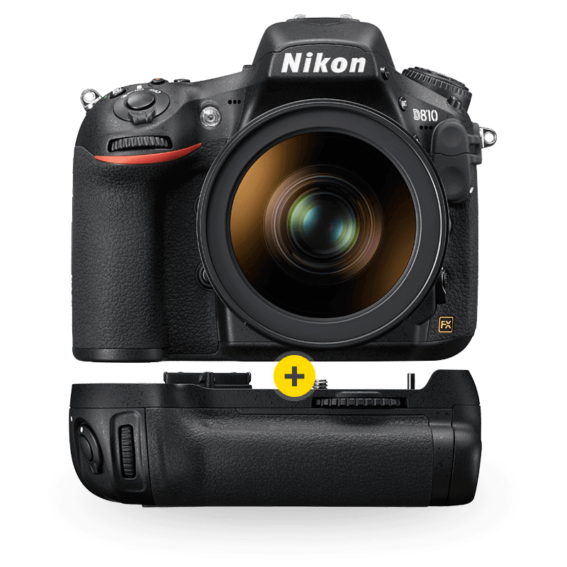 D810 with Battery Pack