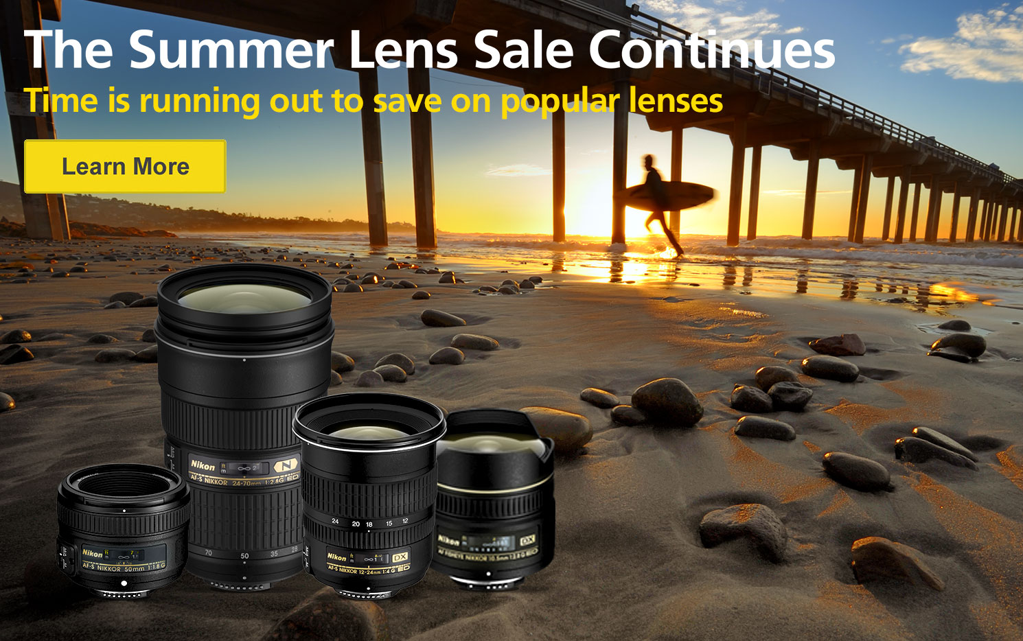 The Summer Lens Sale Continues