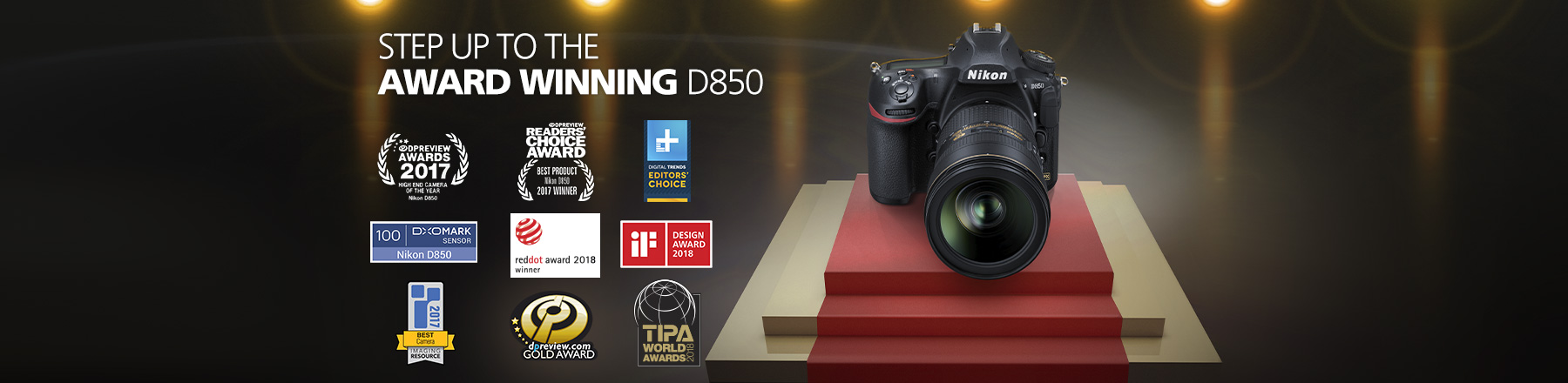 Nikons Award Winning D850