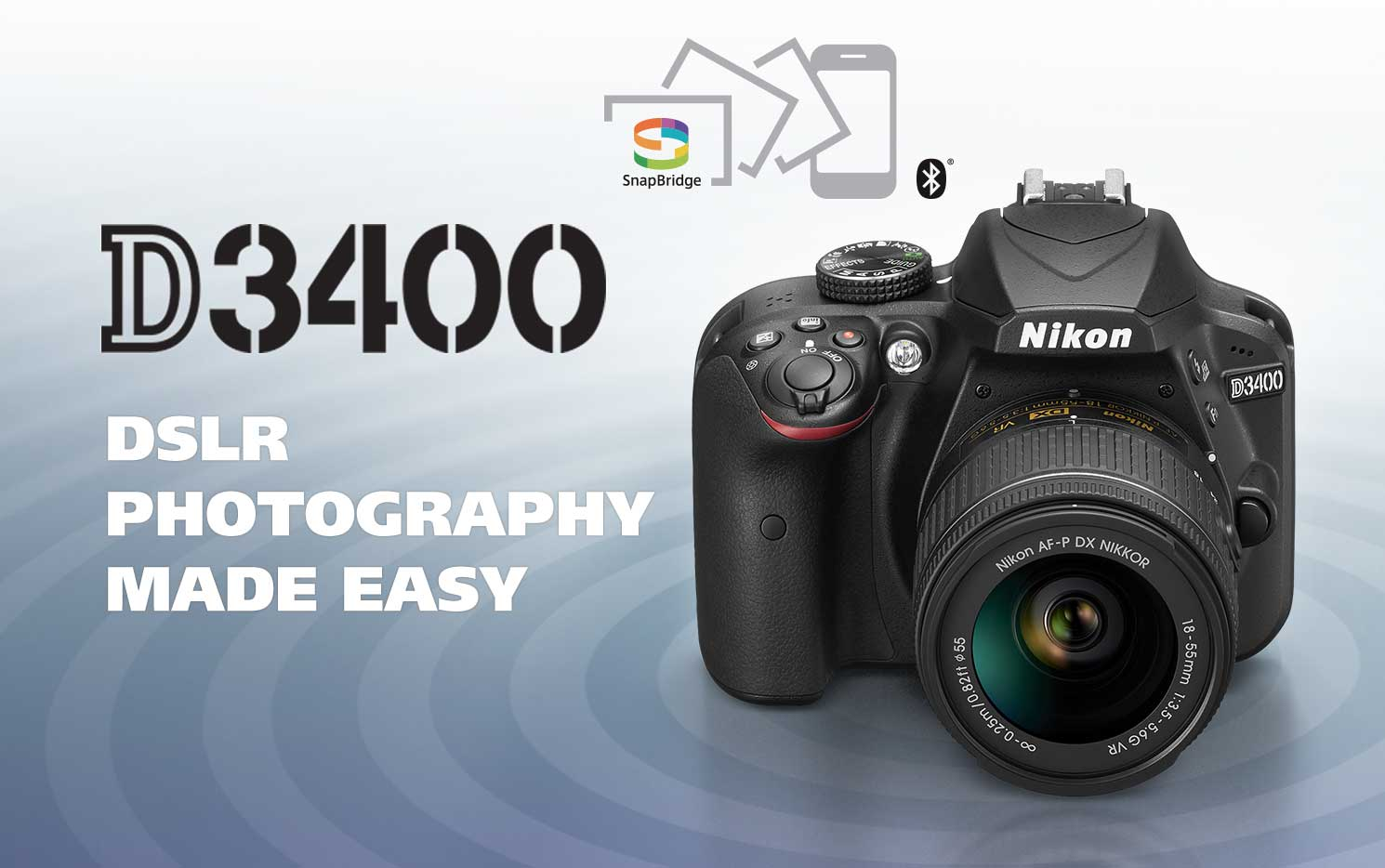 Learn more about the D3400