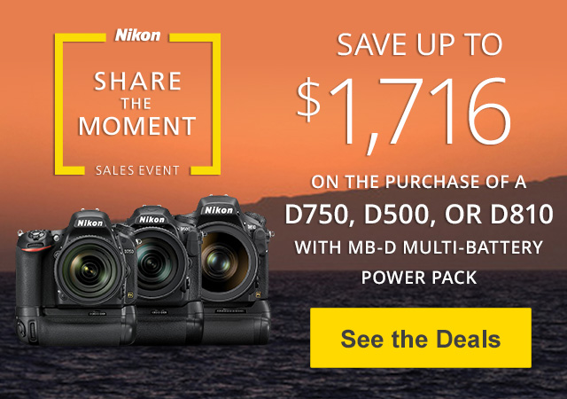 Share the Moment Sales Event