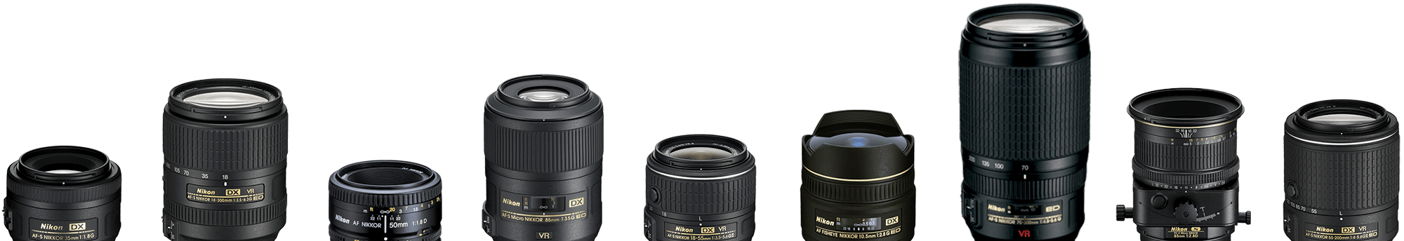 NIKKOR DSLR Camera Lenses | Nikon