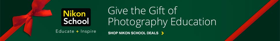 Shop Nikon School Deals