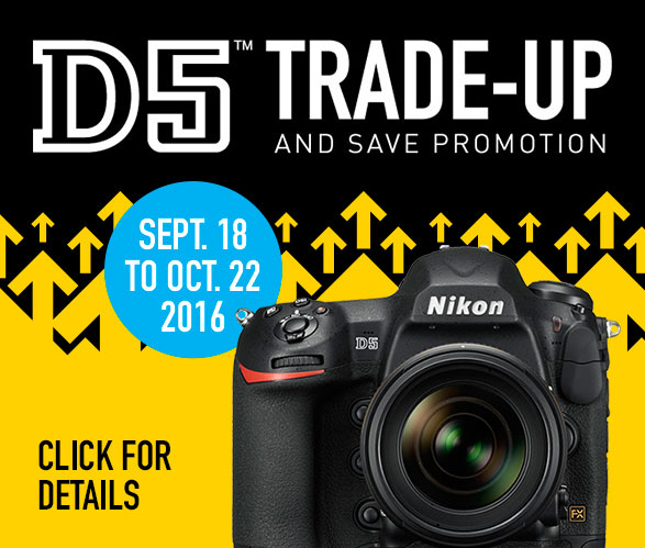 D5 Trade-Up and Save Promotion