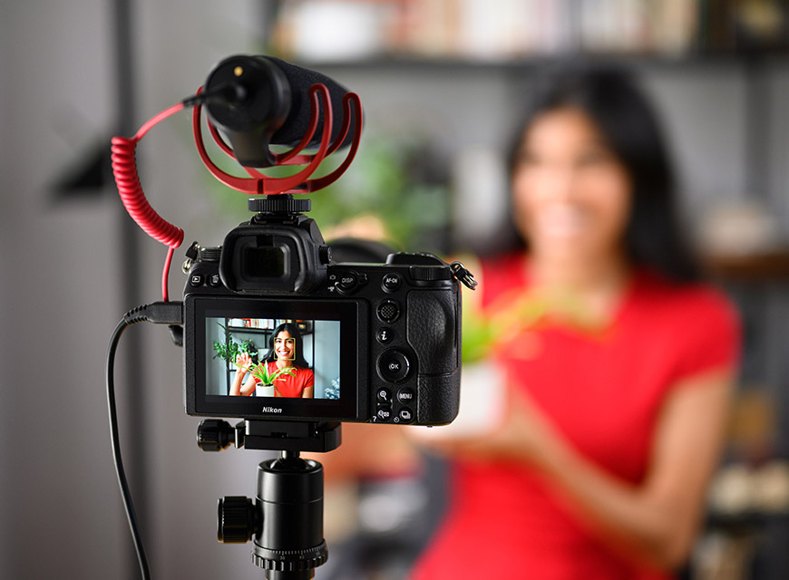 Camera set up recording model
