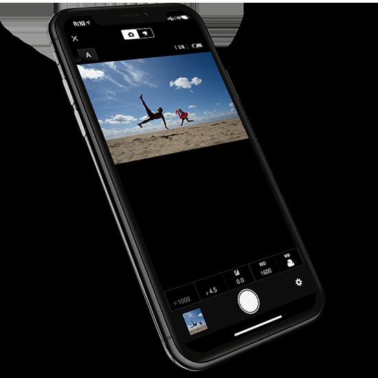 Using snapbridge app