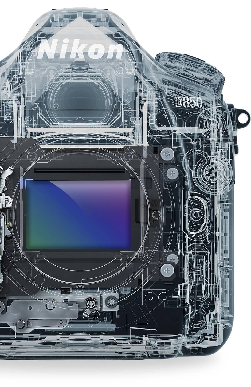 Nikon D850 Features And Technical Specs Camera Lens Parts Diagram Related Keywords 457 Megapixel Back Side Illuminated Cmos Sensor