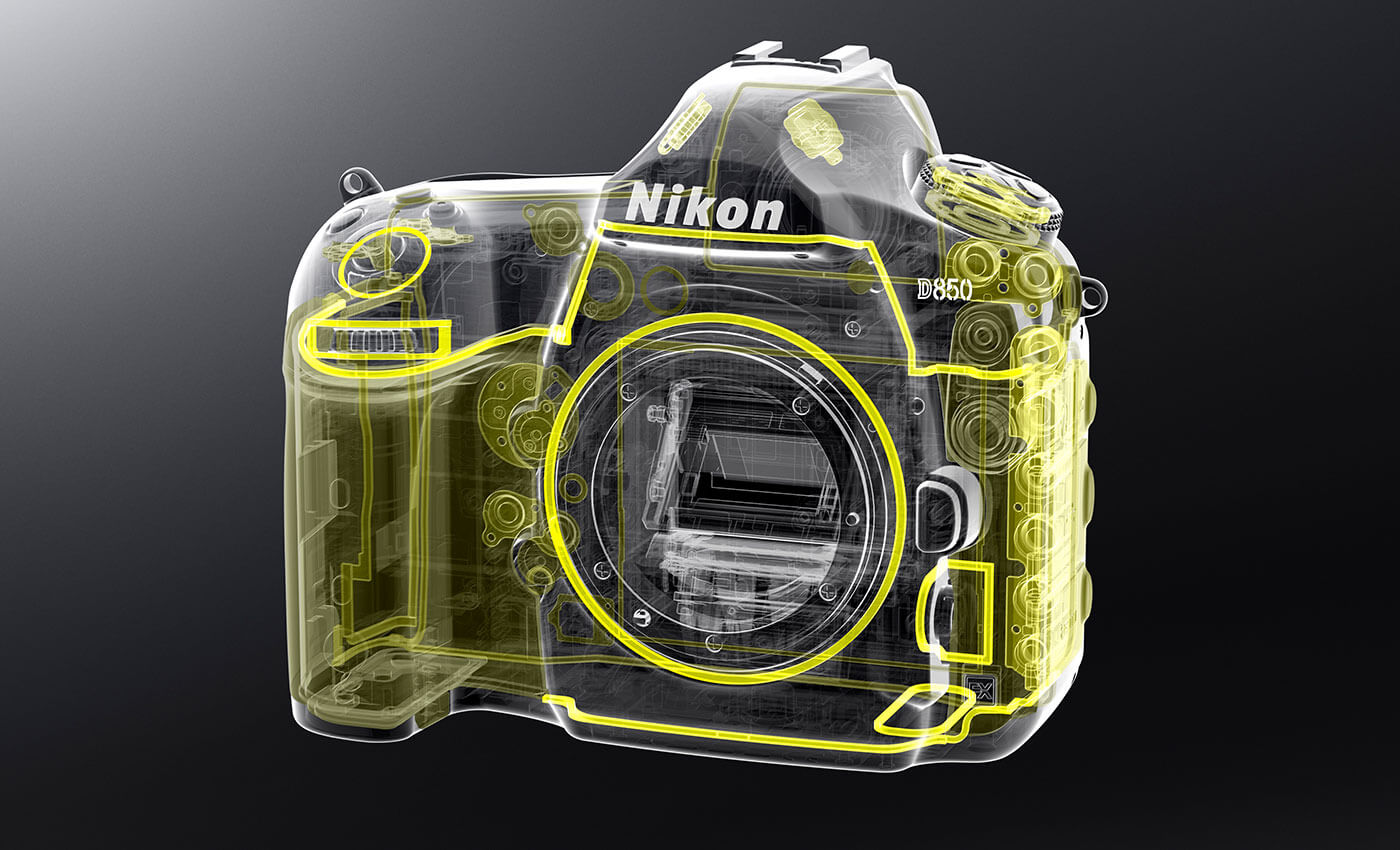 Nikon D850 Features And Technical Specs Camera Parts Diagram 1