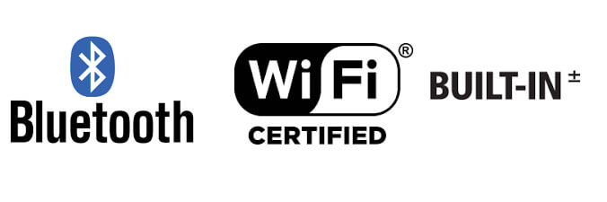 Bluetooth | WiFi Certified Built-in