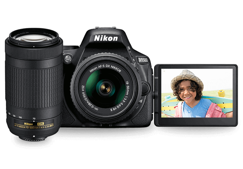 Product photo of Nikon D5500 Two Lens Kit