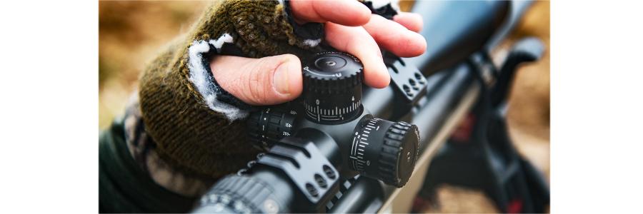 Nikon BLACK Riflescopes with X-MOA and X-MRAD Reticles