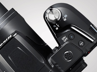 photo of the Grip-style camera body