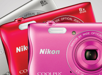 Collection of COOLPIX cameras