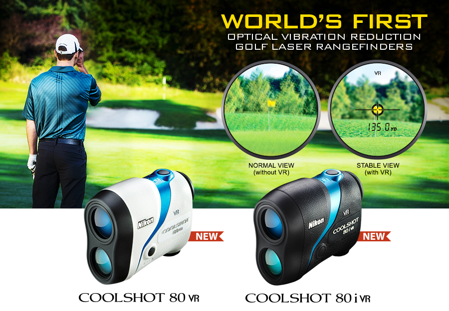 Optical Vibration Reduction Golf Laser Rangefinders
