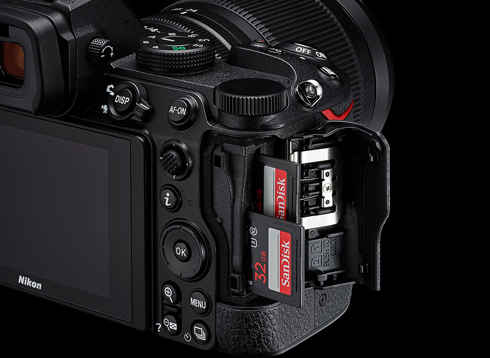 Setting up the Dual Card Slots in the Z 5 Mirrorless Camera | Nikon