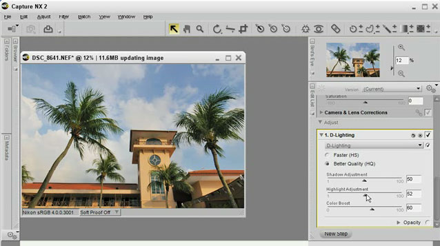 Capture NX 2 Tutorial: Batch Processing from Nikon