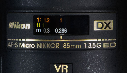 Nikon Micro NIKKOR 85mm Lens Barrel