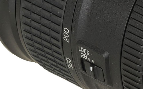 Nikon NIKKOR 28-300mm Lens Barrel focus switch