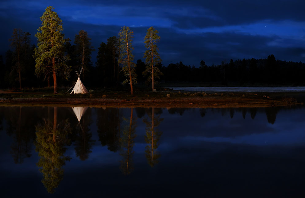 Lighting in photography light painting more nikon from nikon photo of teepee by dave black aloadofball Image collections