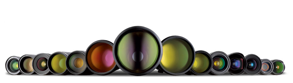 range of Nikon's NIKKOR lenses photo