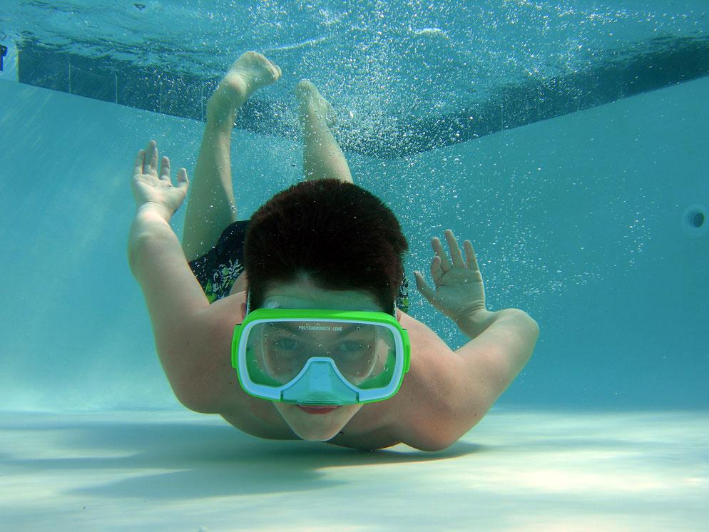 Boy Underwater Images