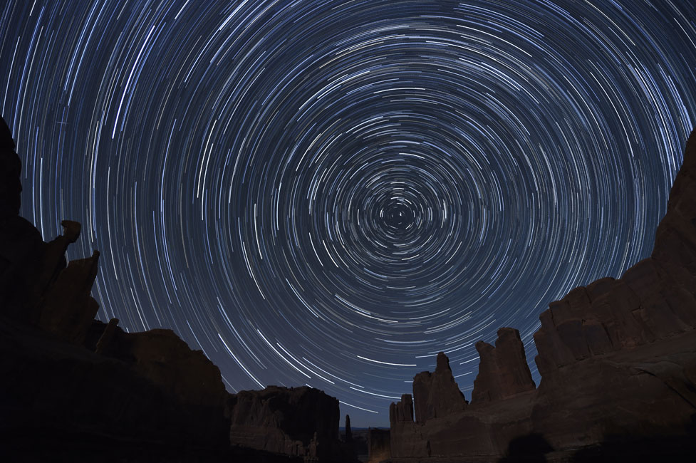 Photographing the Night Sky Star Trails from Nikon