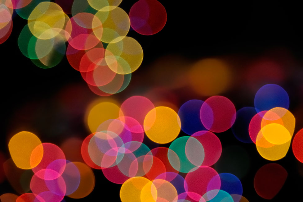 Lindsay Silverman photo of holiday lights out of focus showing nice bokeh  effect - Tips For Photographing The Classic Holiday Light Bokeh Effect From Nikon