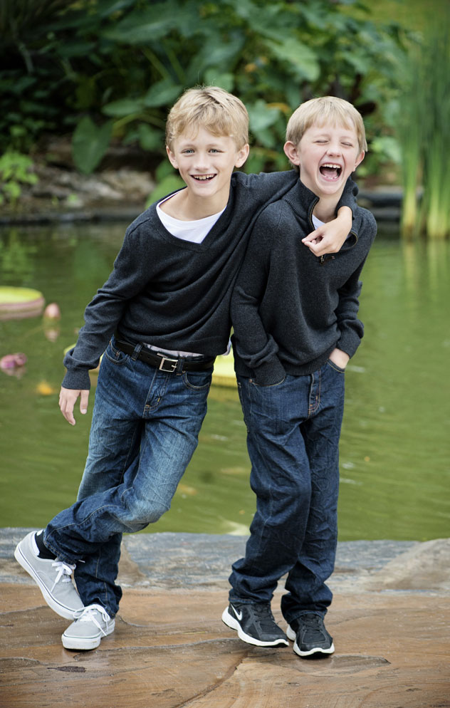Tamara Lackey Photo Of Two Brothers Looking At The Camera For Article On Photographing