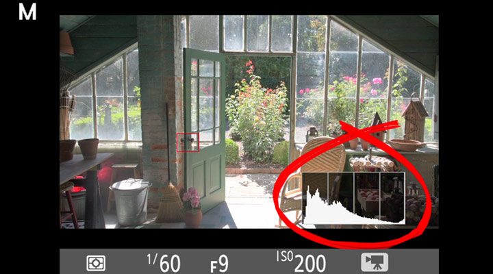 Using the Histogram to Check Exposure   DSLR Video Tips from