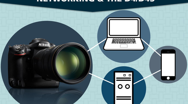 Setting up Your Nikon D4S or D4 DSLR for Networking | Video