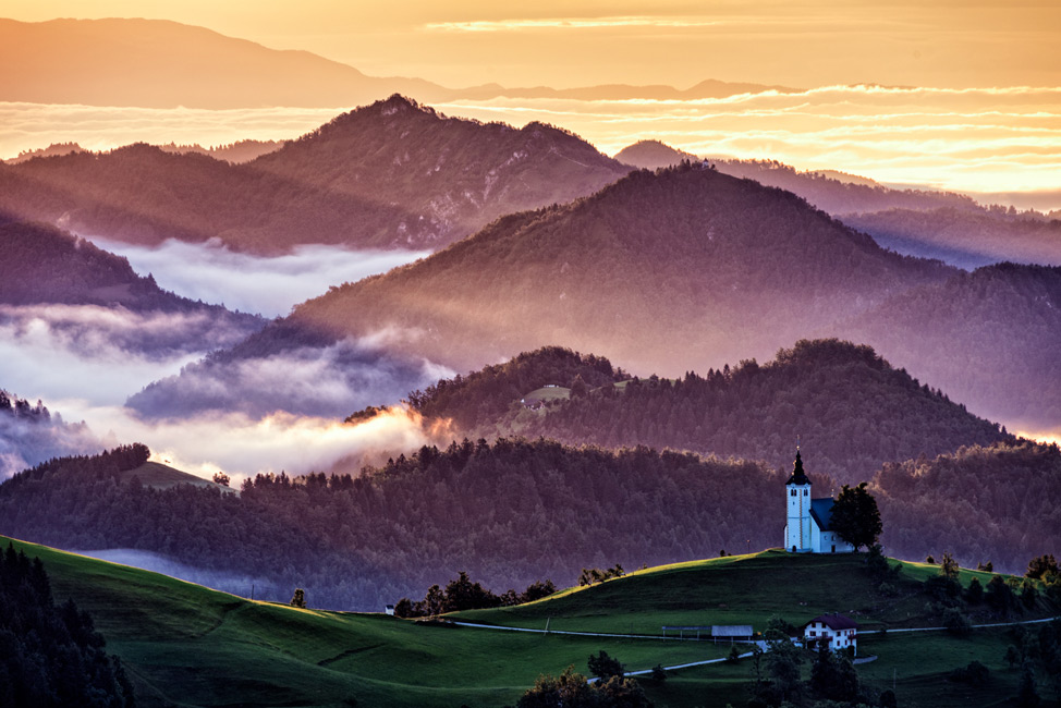 Deborah Sandidge Photo Of Hills In Slovenia At Sunrise: Pier And Sunset Color Sheet At Alzheimers-prions.com