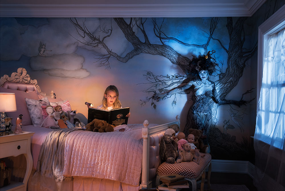 Bedtime Stories and Spooky Tales Fashioned with a Nikon D810 and Nikon Speedlights from Nikon