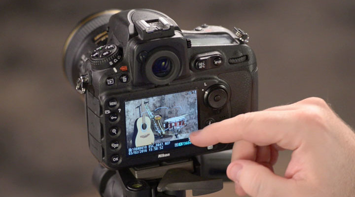 checking a focus point in playback on a nikon dslr from nikon
