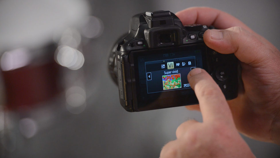 Using a Touchscreen LCD on a Nikon DSLR from Nikon