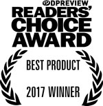 DP Review Readers' Choice Award: Best Product 2017
