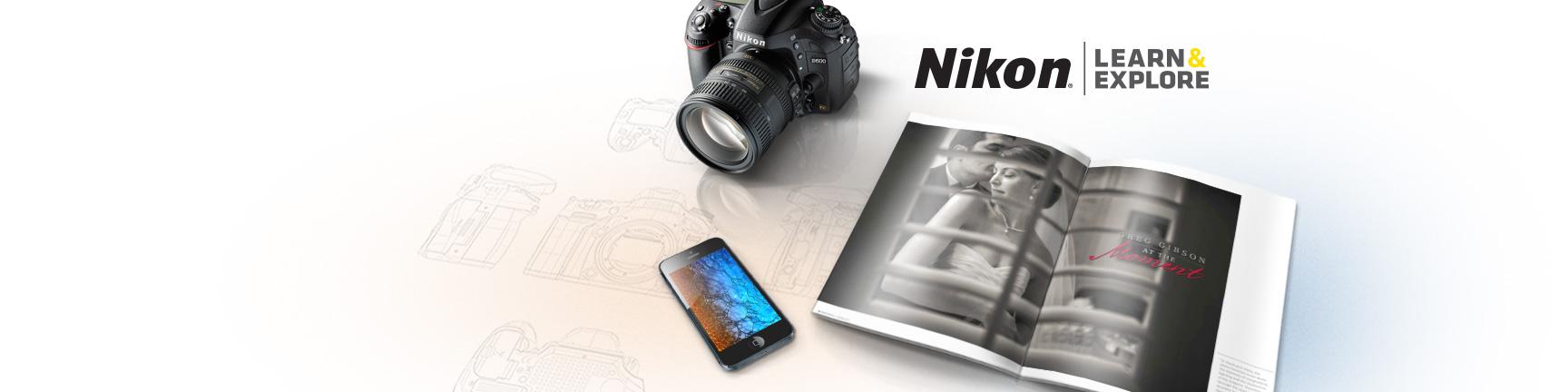 Nikon Learn & Explore iPhone Application - iClarified