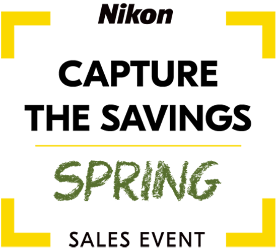 Nikon Capture The Savings Spring Sales Event