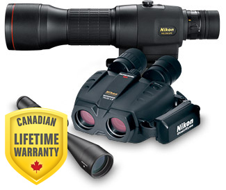 Binoculars, Spotting Scopes, Fieldscopes and Riflescopes with electronic components