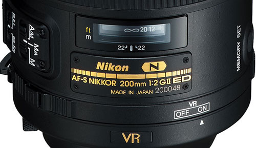 Nikon NIKKOR 55-300mm Lens Barrel