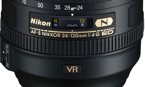 Nikon NIKKOR 24-120mm Lens Barrel