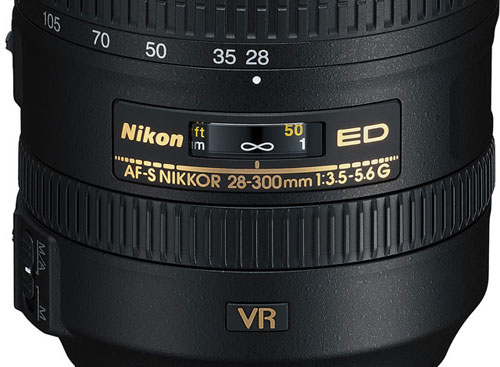 Nikon NIKKOR 28-300mm Lens Barrel