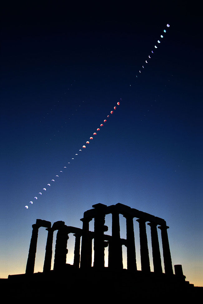 Lunar photograph how to eclipse a