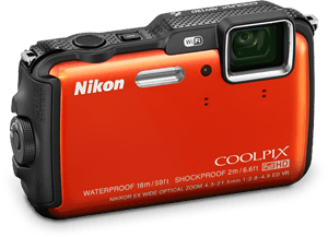 COOLPIX AW120. Be epic, push the limits.