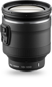 1 NIKKOR VR 10-00MM f/4.5-5.6 PD-ZOOM lens