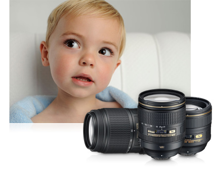 Never miss an important moment with a wide angle lens from Nikon