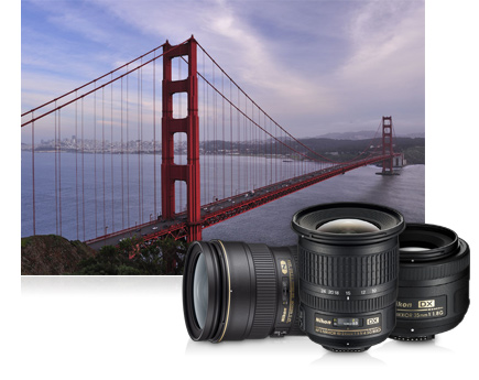 Capture every adventure with a zoom lens from Nikon