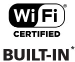 WiFi Built-In